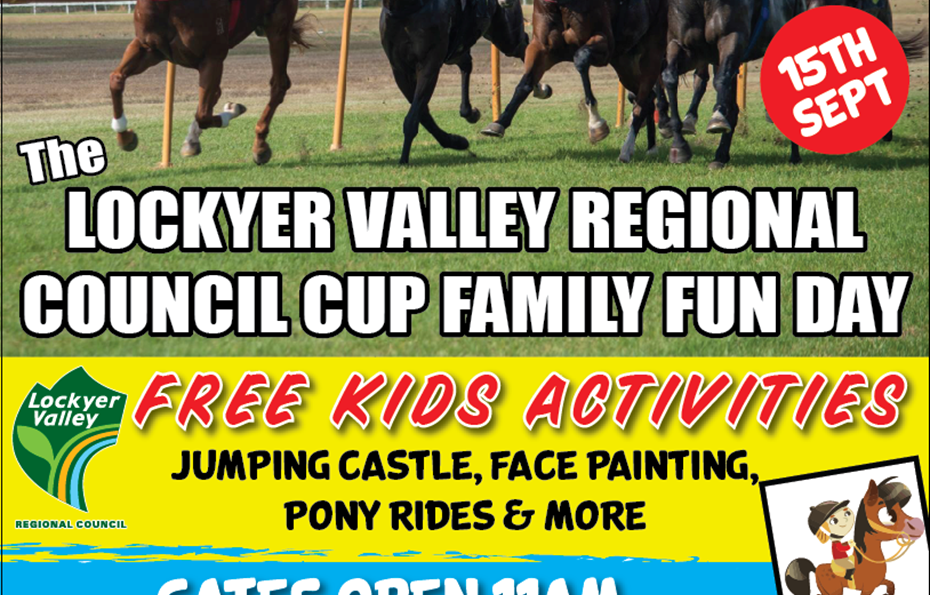 Lockyer Valley Regional Council Cup - Family Fun Day