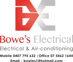 Logo for Bowe's Electrical Gatton