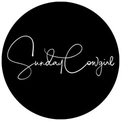 Logo for sunday cowgirl