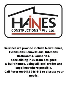 Logo for Haines Construction